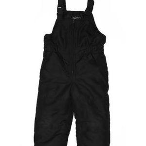 OshKosh Insulated Snow Bib Pants Black M 5/6
